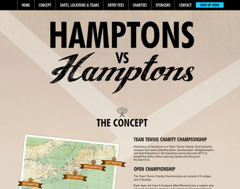 Hamptons vs Hamptons motorisé par Web 2D