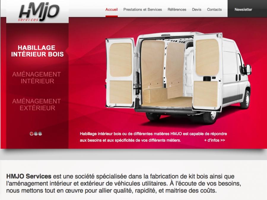 HMJO Services motorisé par Web 2D