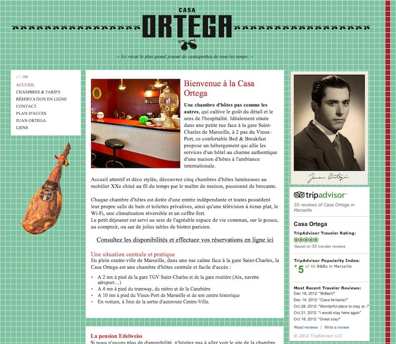 La Casa Ortega motorisé par Web 2D